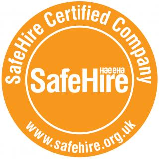 SAFE HIRE CERTIFIED!